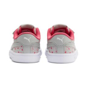 Thumbnail 3 of PUMA Smash v2 Confetti AC Shoes INF, Gray Violet-Bridal Rose, medium