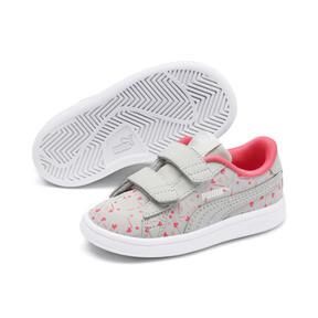Thumbnail 2 of PUMA Smash v2 Confetti AC Shoes INF, Gray Violet-Bridal Rose, medium