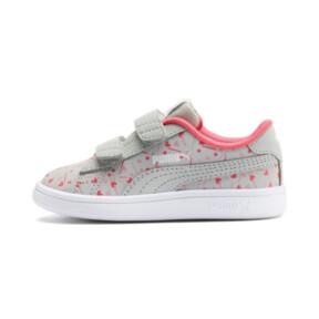Thumbnail 1 of PUMA Smash v2 Confetti AC Shoes INF, Gray Violet-Bridal Rose, medium