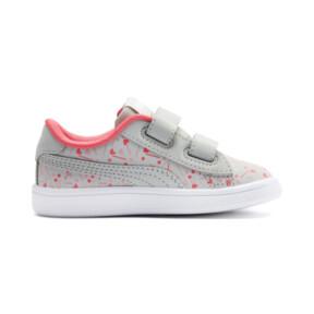 Thumbnail 5 of PUMA Smash v2 Confetti AC Shoes INF, Gray Violet-Bridal Rose, medium