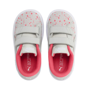 Thumbnail 6 of PUMA Smash v2 Confetti AC Shoes INF, Gray Violet-Bridal Rose, medium