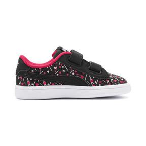 Thumbnail 5 of PUMA Smash v2 Confetti AC Shoes INF, Puma Black-Nrgy Rose, medium
