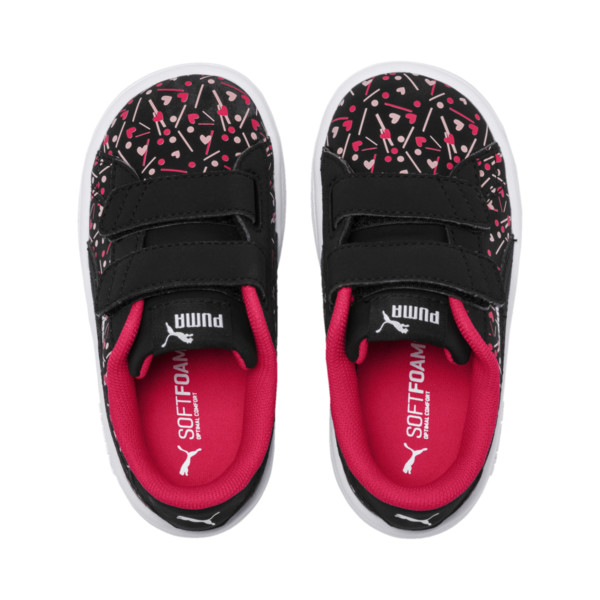 PUMA Smash v2 Confetti AC Shoes INF, Puma Black-Nrgy Rose, large