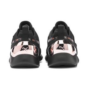 Miniatura 4 de Zapatos deportivos Muse X-2 Metallic para mujer, Puma Black-Rose Gold, mediano