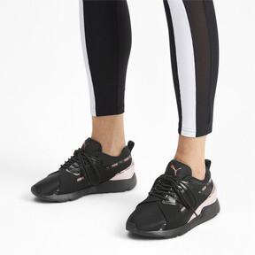 Miniatura 2 de Zapatos deportivos Muse X-2 Metallic para mujer, Puma Black-Rose Gold, mediano