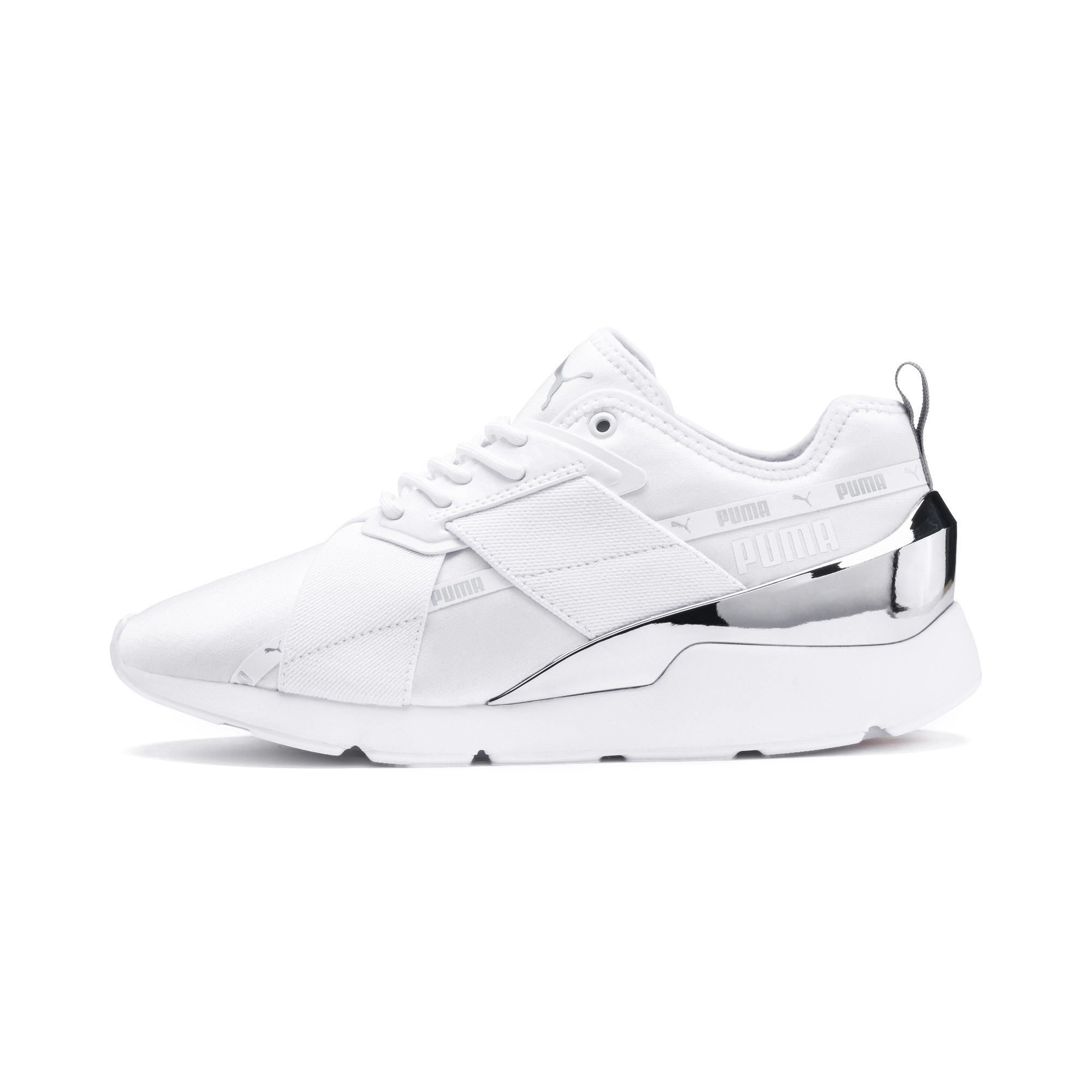 PUMA-Muse-X-2-Metallic-Women-039-s-Sneakers-Women-Shoe-Evolution thumbnail 4