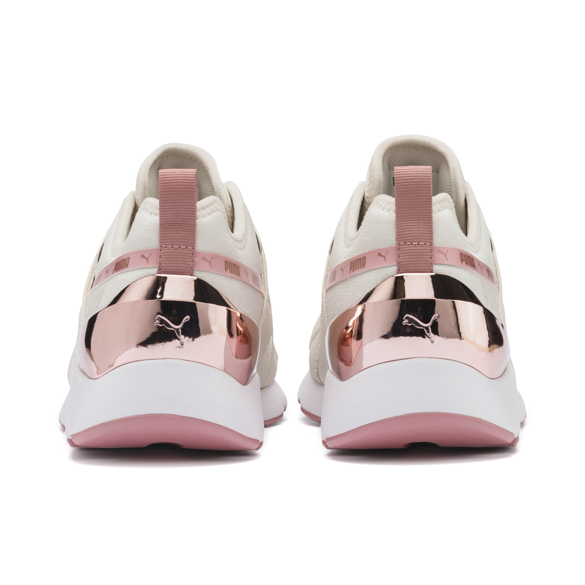 PUMA-Muse-X-2-Metallic-Women-039-s-Sneakers-Women-Shoe-Evolution thumbnail 10
