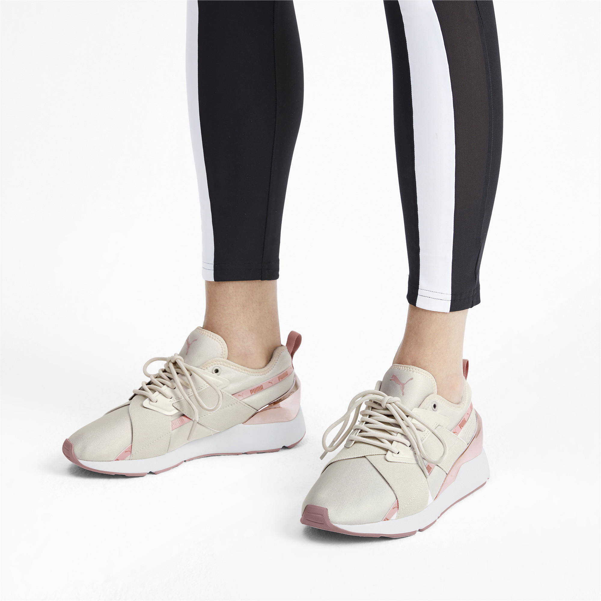PUMA-Muse-X-2-Metallic-Women-039-s-Sneakers-Women-Shoe-Evolution thumbnail 12