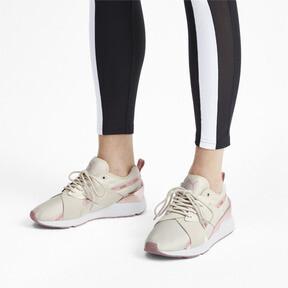 Miniatura 2 de Zapatos deportivos Muse X-2 Metallic para mujer, Pastel Parchment-Rose Gold, mediano