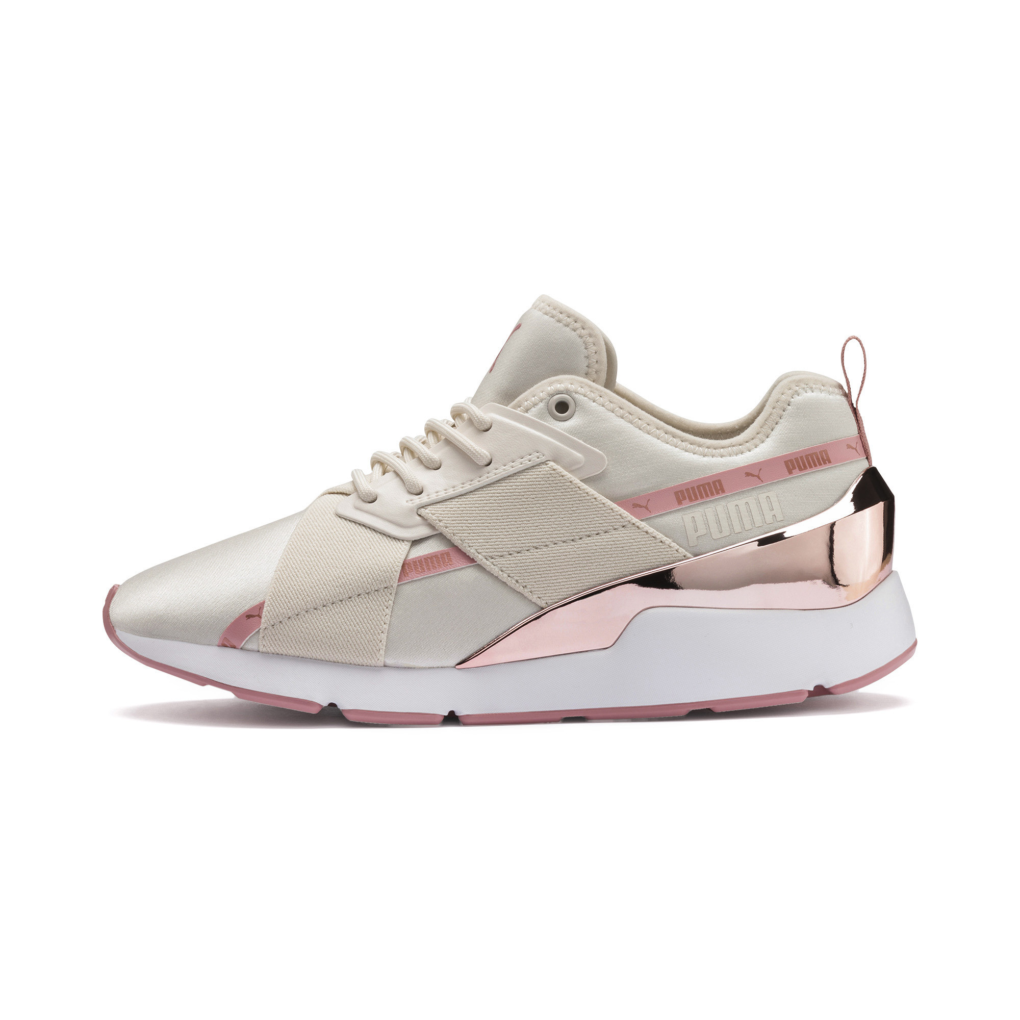 PUMA-Muse-X-2-Metallic-Women-039-s-Sneakers-Women-Shoe-Evolution thumbnail 11