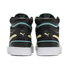 Thumbnail 4 of Ralph Sampson Mid Hoops Sneakers, Puma Blk-Puma Wht-Puma Wht, medium