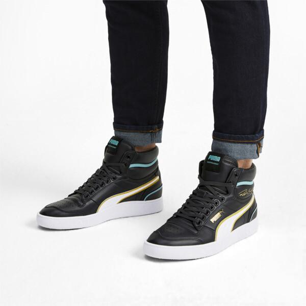 Zapatos deportivos de caña media Ralph Sampson Hoops, Puma Blk-Puma Wht-Puma Wht, grande