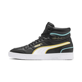 Thumbnail 1 of Ralph Sampson Mid Hoops Sneakers, Puma Blk-Puma Wht-Puma Wht, medium