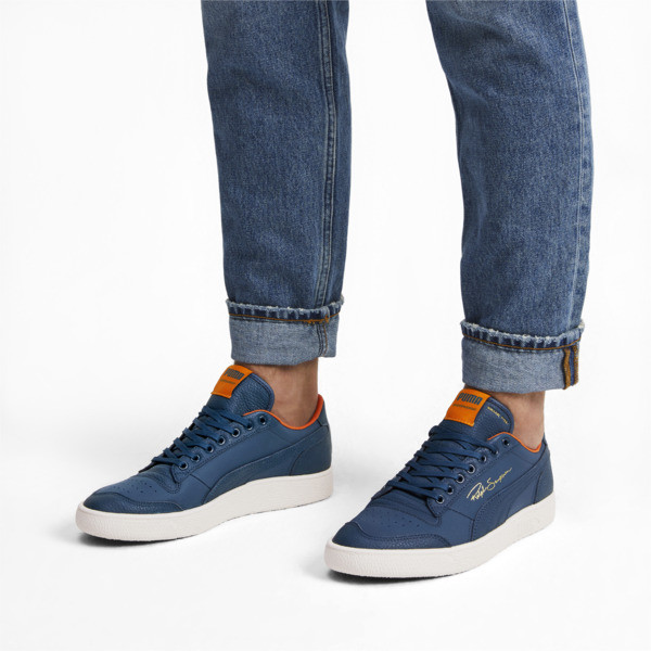 Ralph Sampson Virginia Lo Sneakers, Gib.Sea-Marshmallow-J.Orange, large