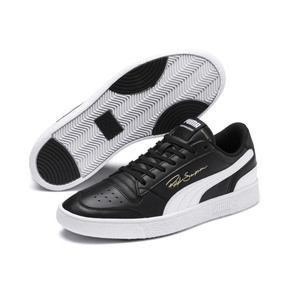 Thumbnail 2 of Ralph Sampson Lo Trainers, Puma Blk-Puma Wht-Puma Wht, medium