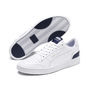 Thumbnail 2 of Ralph Sampson Lo Trainers, Puma Wht-Peacoat-Puma Wht, medium