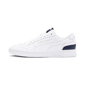 Thumbnail 1 of Ralph Sampson Lo Trainers, Puma Wht-Peacoat-Puma Wht, medium