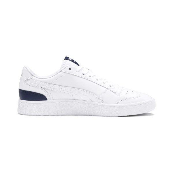 Ralph Sampson Lo Trainers, Puma Wht-Peacoat-Puma Wht, large
