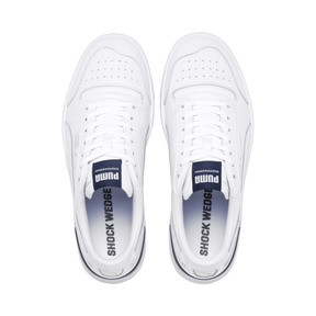 Thumbnail 6 of Ralph Sampson Lo Trainers, Puma Wht-Peacoat-Puma Wht, medium