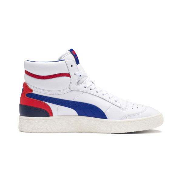 Ralph Sampson Mid Sneakers, Wht-Surf The Web-Marshmallow, large