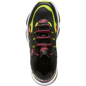 Thumbnail 5 of CELL Venom Fresh Mix Women's Sneakers, Puma Black-Limepunch, medium