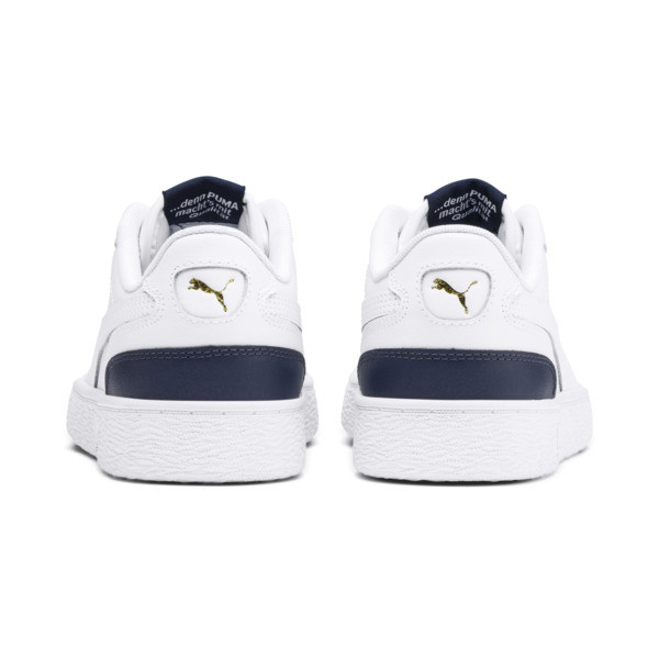 Ralph Sampson Lo Youth Trainers, White-Peacoat-White, large