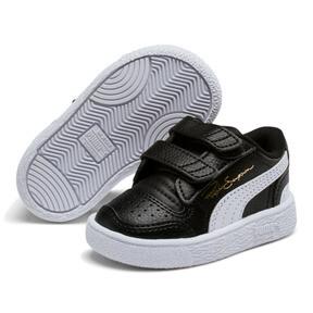 Thumbnail 2 of Ralph Sampson Low AC Toddler Shoes, Black-White-White, medium