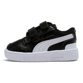 Thumbnail 1 of Ralph Sampson Low AC Toddler Shoes, Black-White-White, medium