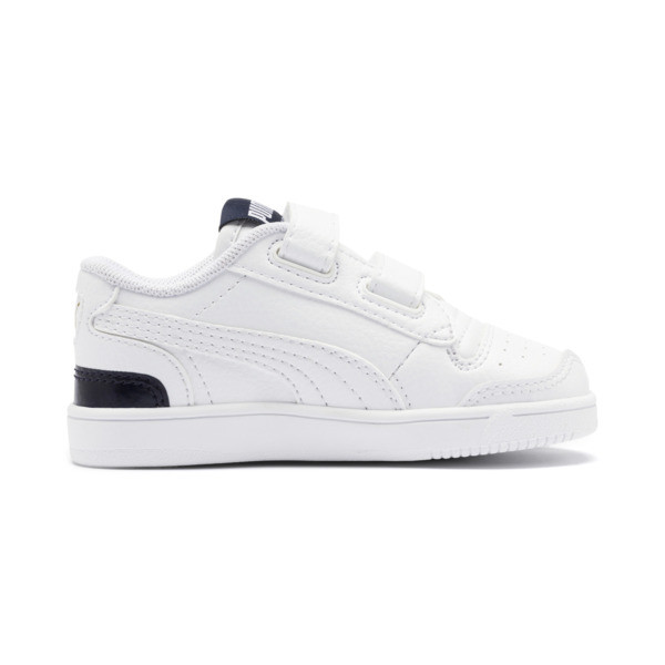 Ralph Sampson Lo V Babies' Trainers, White-Peacoat-White, large
