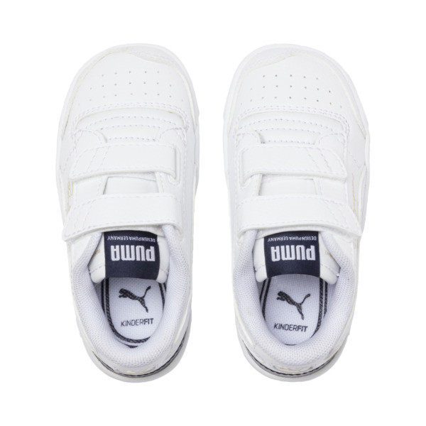 Ralph Sampson Low AC Toddler Shoes, White-Peacoat-White, large
