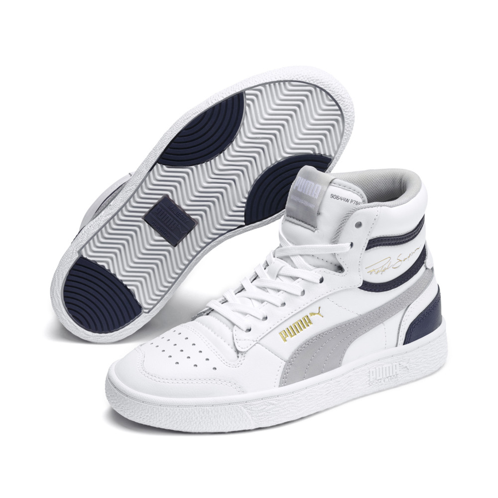 Image Puma Ralph Sampson Mid Youth Trainers #2