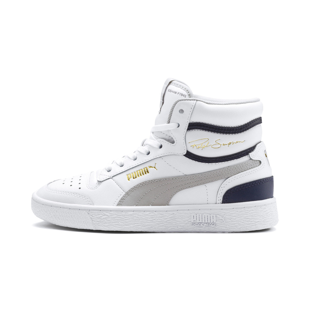 Image Puma Ralph Sampson Mid Youth Trainers #1