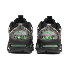 Thumbnail 4 of CELL Endura Animal Kingdom Trainers, Puma Black-Classic Green, medium