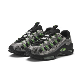 Thumbnail 3 of CELL Endura Animal Kingdom Trainers, Puma Black-Classic Green, medium