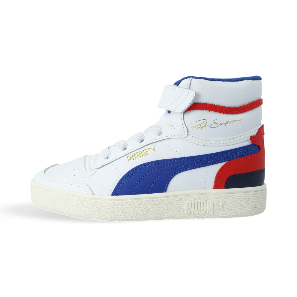 Image Puma Ralph Sampson Mid Kids' Trainers #1