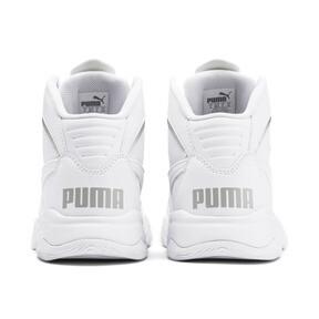 Miniatura 3 de Zapatos deportivos PUMA Rebound Playoff SL JR, Puma White-Puma Silver, mediano