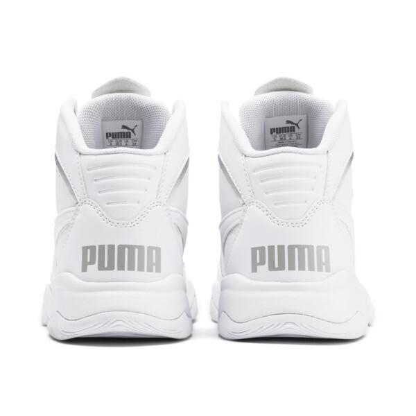 Zapatos deportivos PUMA Rebound Playoff SL JR, Puma White-Puma Silver, grande
