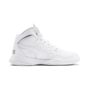 Miniatura 5 de Zapatos deportivos PUMA Rebound Playoff SL JR, Puma White-Puma Silver, mediano