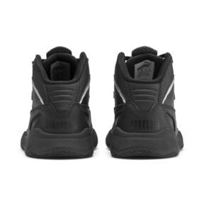 Miniatura 3 de ZapatosPUMA Rebound Playoff SL para niños, Puma Black-Puma Silver, mediano