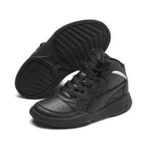 Miniatura 2 de ZapatosPUMA Rebound Playoff SL para niños, Puma Black-Puma Silver, mediano