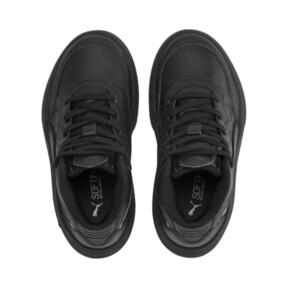 Miniatura 6 de ZapatosPUMA Rebound Playoff SL para niños, Puma Black-Puma Silver, mediano