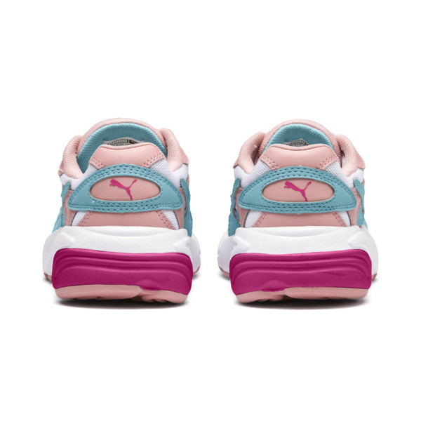 ZapatosCELL Alien Cosmic para niños, Bridal Rose-Milky Blue, grande
