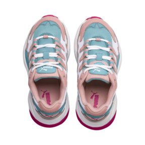 Miniatura 6 de ZapatosCELL Alien Cosmic para niños, Bridal Rose-Milky Blue, mediano