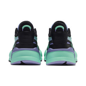 Thumbnail 3 of PUMA x MTV RS-X Tracks Pastel 2 Trainers, Puma Black-Sweet Lavender, medium