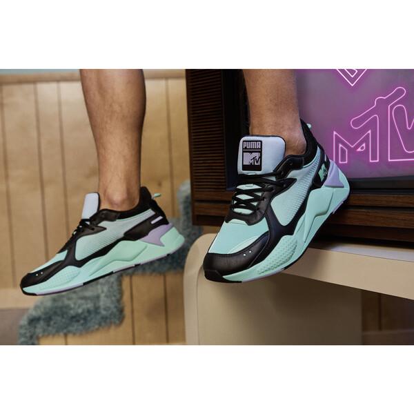 RS-X Tracks MTV Gradient Gloom Sneakers, Puma Black-Sweet Lavender, large