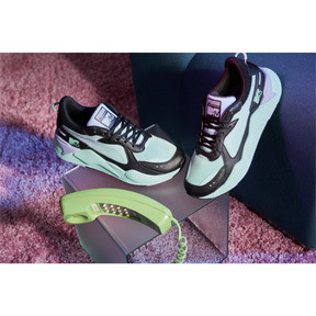 Thumbnail 8 of RS-X Tracks MTV Gradient Gloom Sneakers, Puma Black-Sweet Lavender, medium