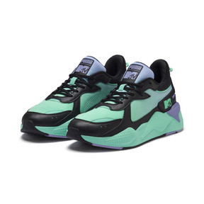 Thumbnail 2 of PUMA x MTV RS-X Tracks Pastel 2 Trainers, Puma Black-Sweet Lavender, medium