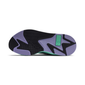 Thumbnail 4 of PUMA x MTV RS-X Tracks Pastel 2 Trainers, Puma Black-Sweet Lavender, medium