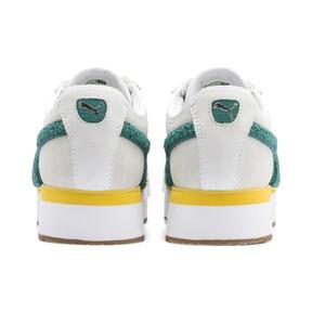 Thumbnail 4 of Roma Amor Heritage Women's Sneakers, Puma White-Teal Green, medium