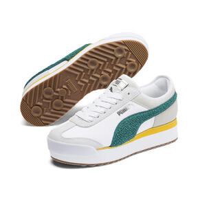 Thumbnail 3 of Roma Amor Heritage Women's Sneakers, Puma White-Teal Green, medium